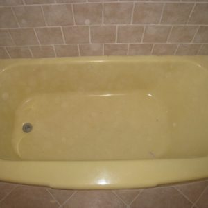 before tub refinishing chicago
