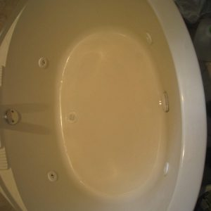 white bathtub refinishing process
