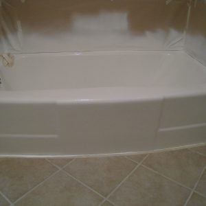 after tub refinishing